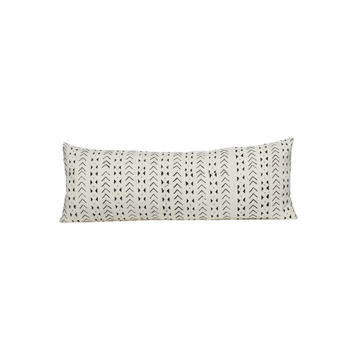 Milly Mud Cloth Pillow - Front