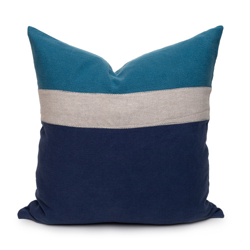 Cooper PURE Linen Pillow Navy - Front