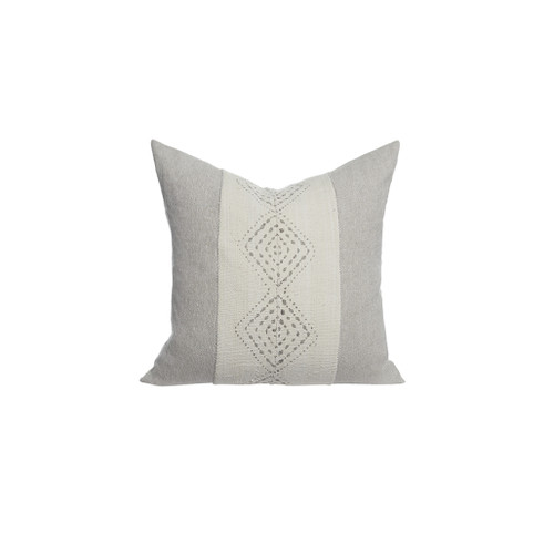 Labyrinth Mud Cloth Pillow