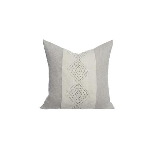 Labyrinth Mud Cloth Pillow