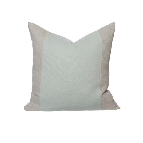 Christina 26 Pillow Aquamarine Linen - Front