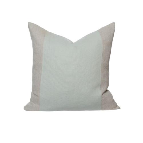 Christina 26 Pillow Aquamarine Linen - Front