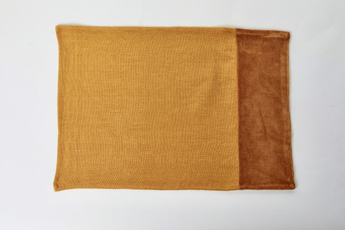 Alexis Golden Topaz Linen Placemat - Product