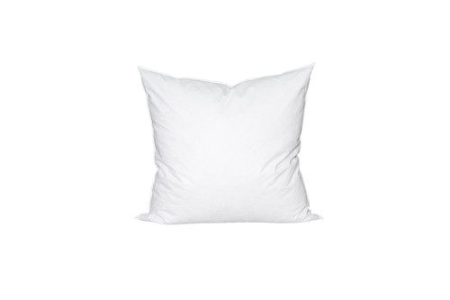 26 x 26 Square Feather Down Pillow Insert - Made in USA