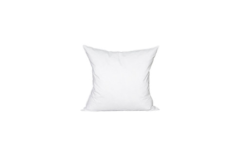 20 x 20 Square Feather Down Pillow Insert - Made in USA
