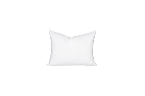 16 x 22 Lumbar Feather Down Pillow Insert - Made in USA