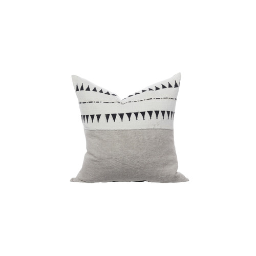 Talisman Mud Cloth Pillow 22 - Front View