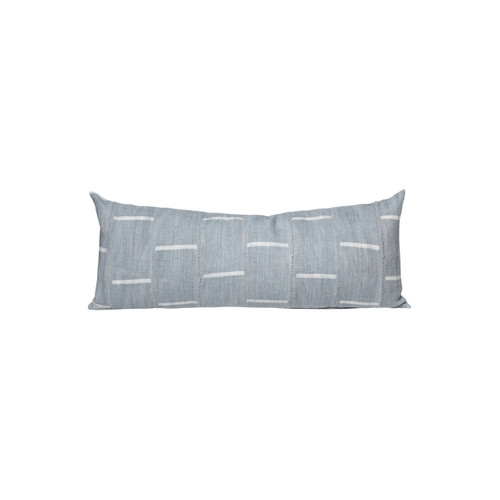 Veren Mud Cloth Lumbar Pillow - Front