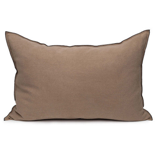 Santal Linen Pillow 2030 - Stone - Front View