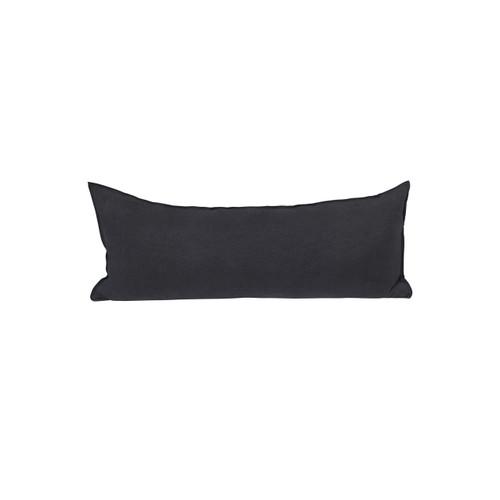 Santal Linen Pillow 1436 - Carbon - Front View