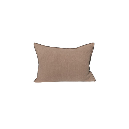 Santal Linen Pillow 1622 - Stone - Front View