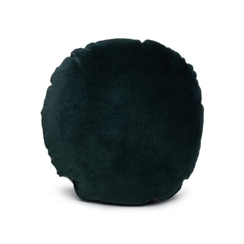 Ronde Tourmaline Velvet Round Pillow - Front