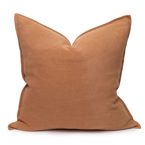 Simone PURE LINEN pillow Sunstone - front