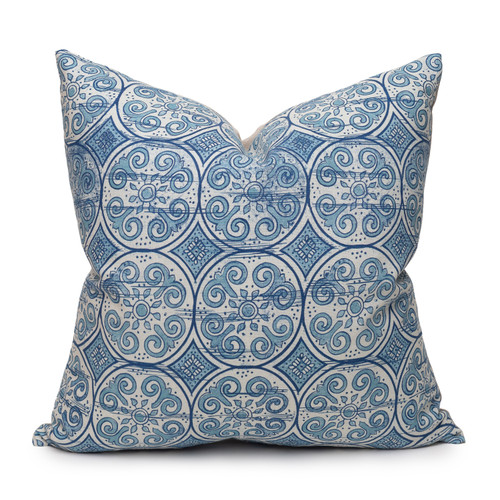 Jaipur Dreams Indigo Pillow - Front