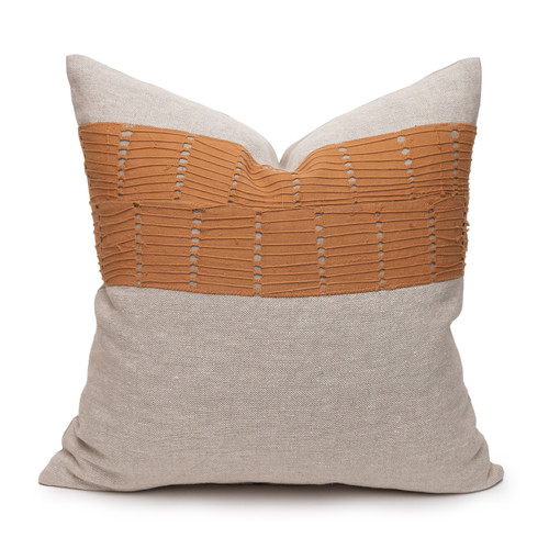 Penny Aso Oke Luxe Vintage Pillow - 22 - Front