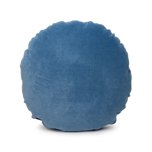 Ronde Vegan Faux Sherpa Round Pillow - Front