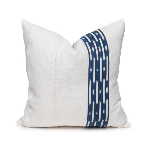 Peak Indigo Pillow- 20- Front View