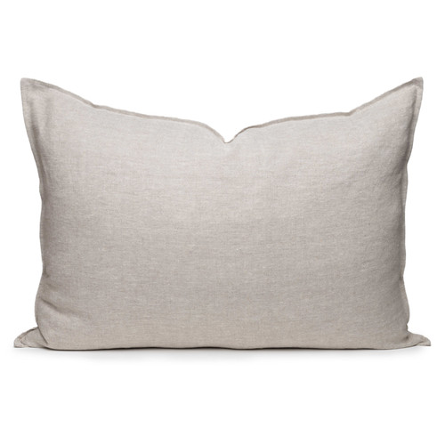 Simone PURE LINEN pillow- Natural- 2636 - front view