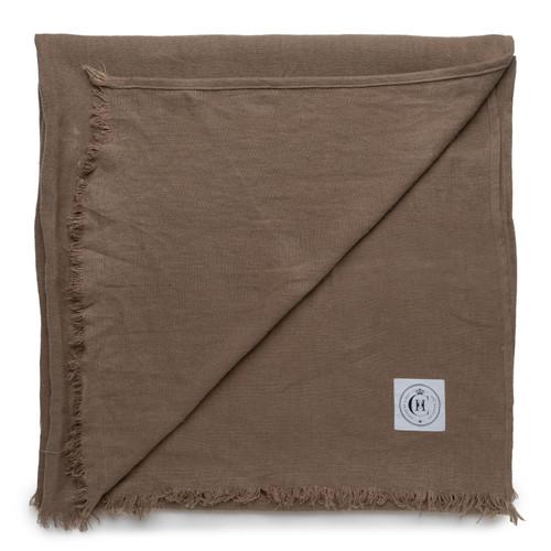 Topanga Throw Blanket- Stone