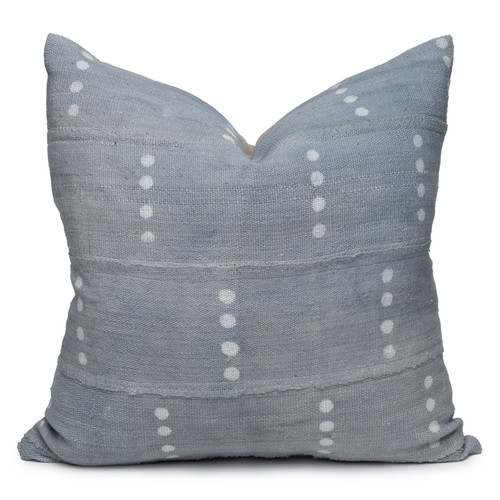 "Koa Mud Cloth Pillow - 22""- Front"