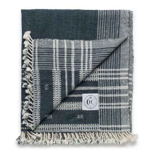 Hand Loomed Indian Spun Wool- Delphi