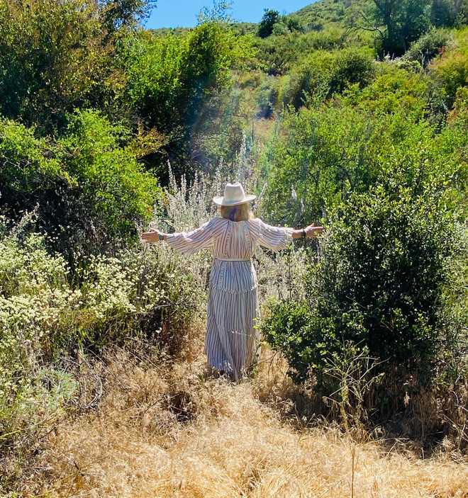 Smudging with California White Sage