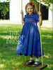 Scalloped dress from Classic Sewing magazine Autumn 2021