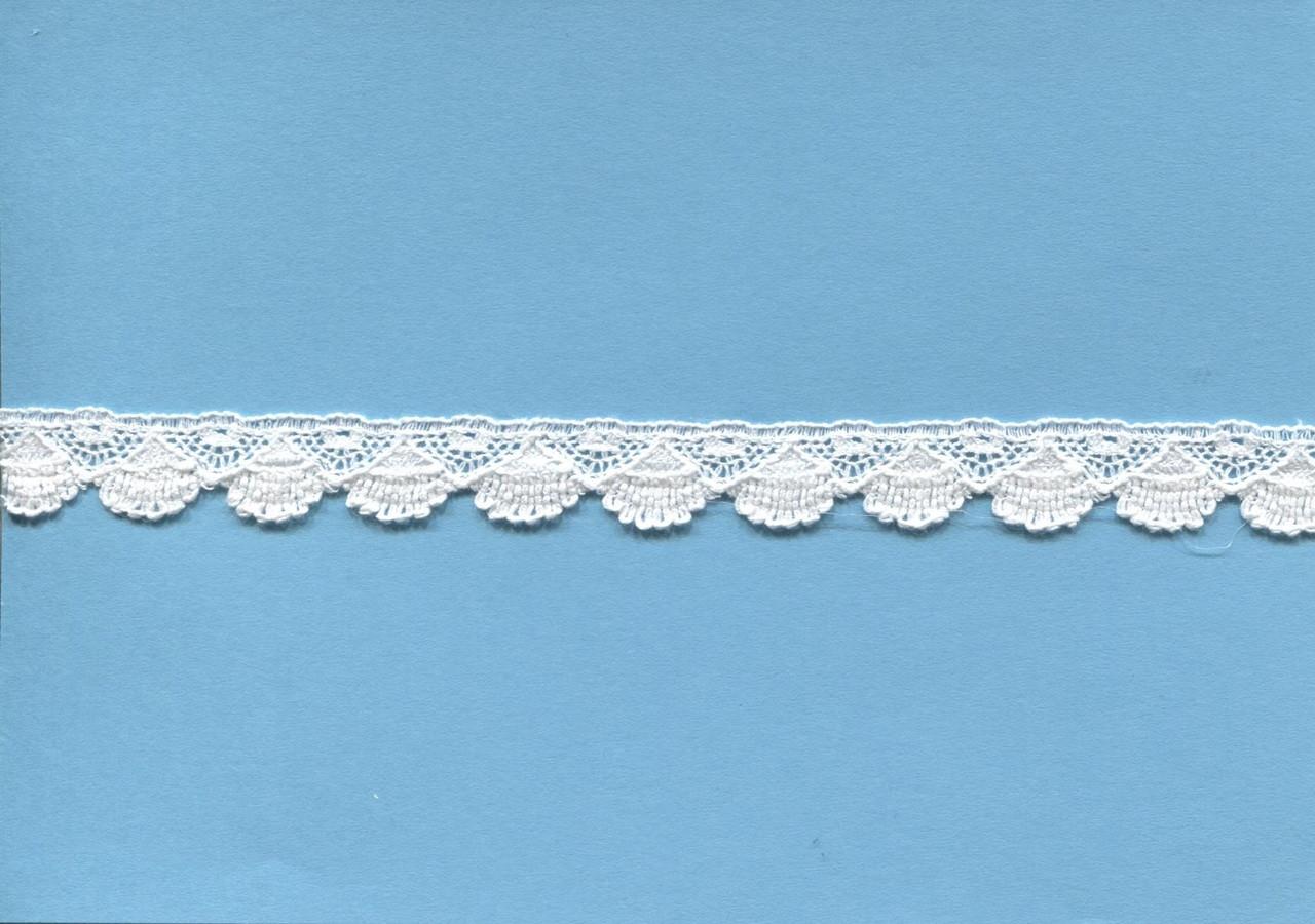 Fan design edging lace 1.1 cm wide