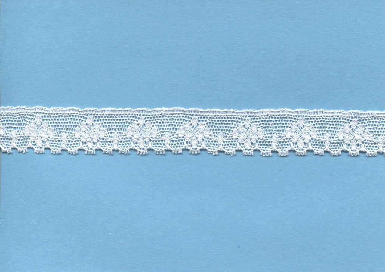 Diamond design off white edging lace 1.7 cm wide