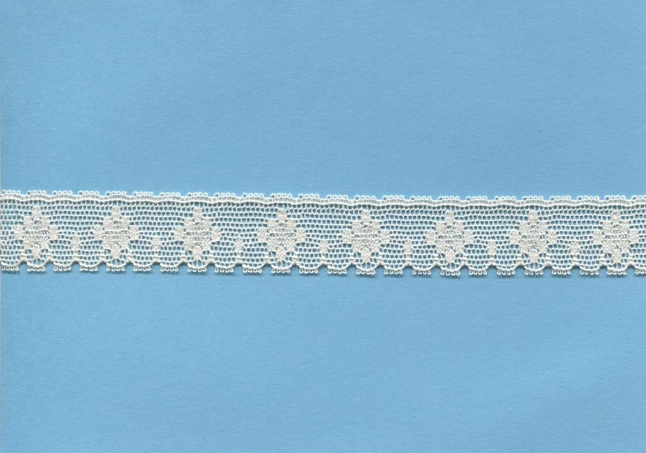 Diamond design ecru edging lace 1.7 cm wide