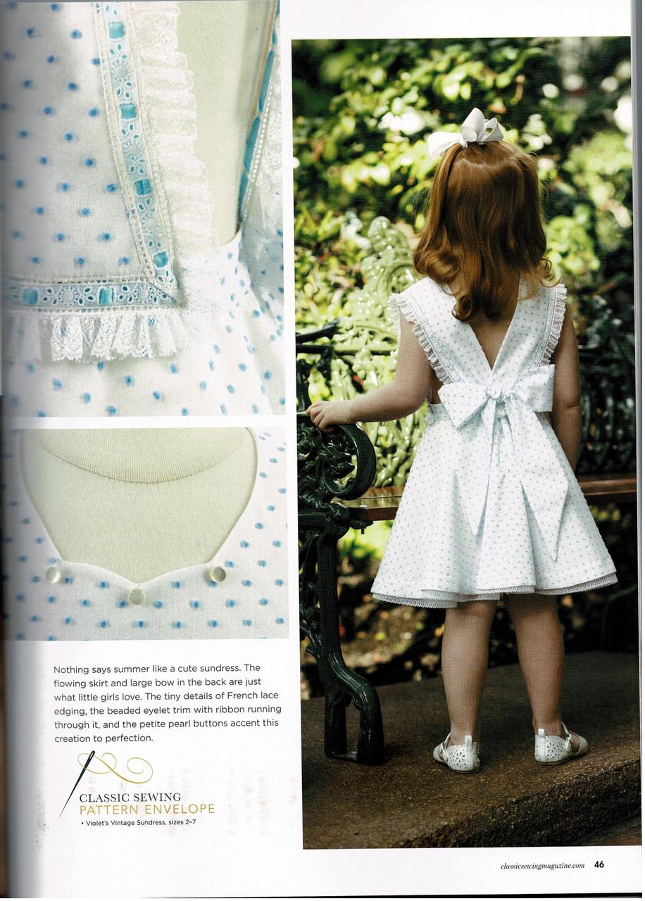 Classic Sewing magazine summer 2020 - Summer dress