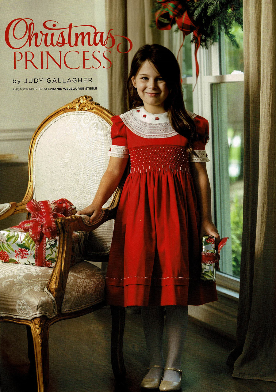 Christmas Princess dress is a Downloadable pattern from the magazine