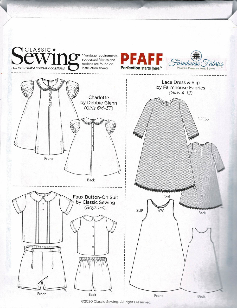 Notions from the pattern included in the Classic Sewing magazine holiday issue 2020