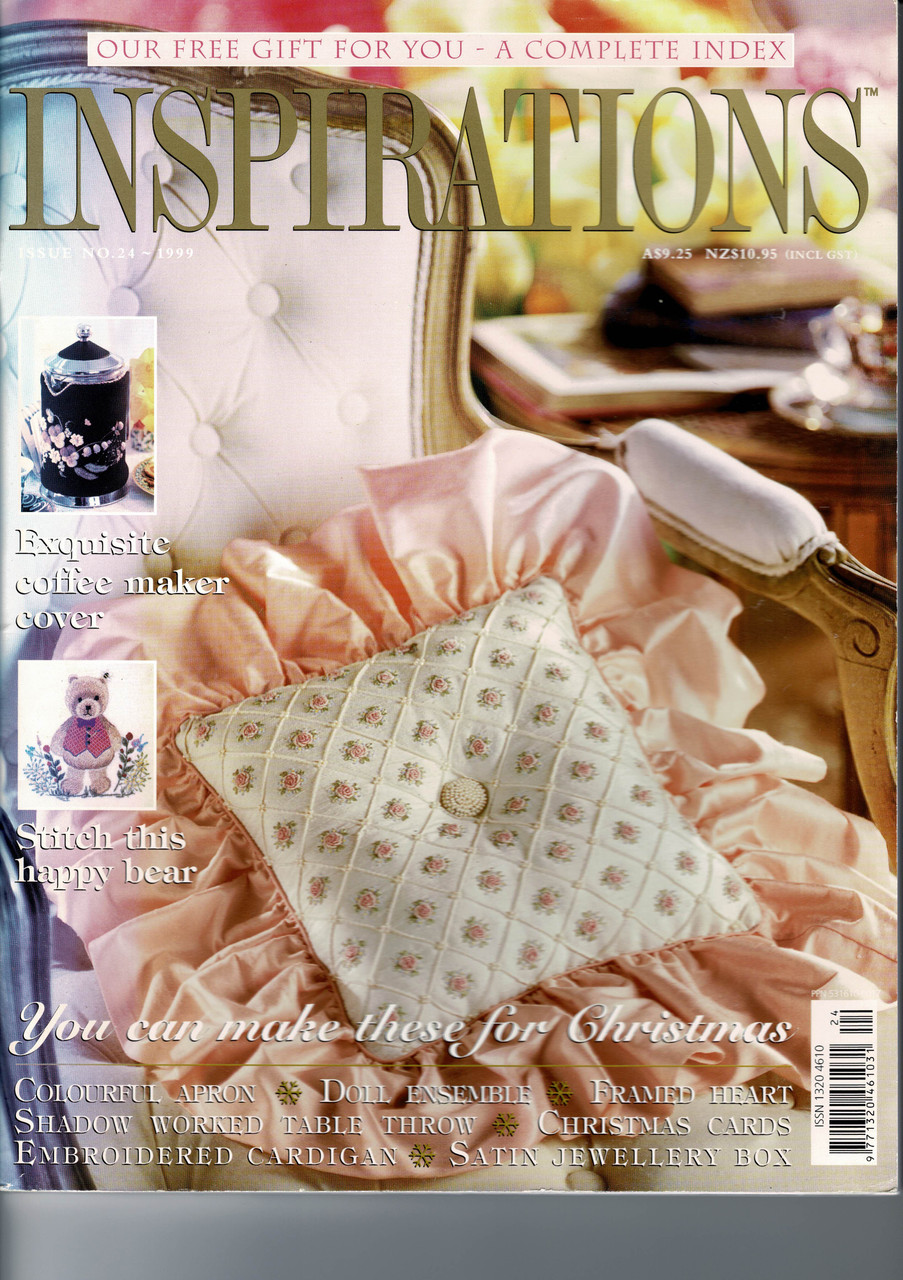 Inspirations Magazine , Issue 24, excellent condition,