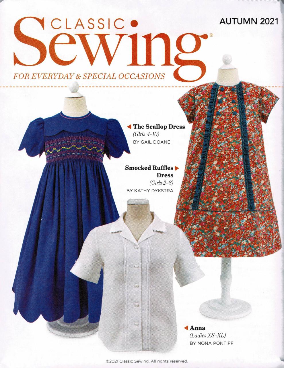 Classic Sewing Magazine Autumn 2021