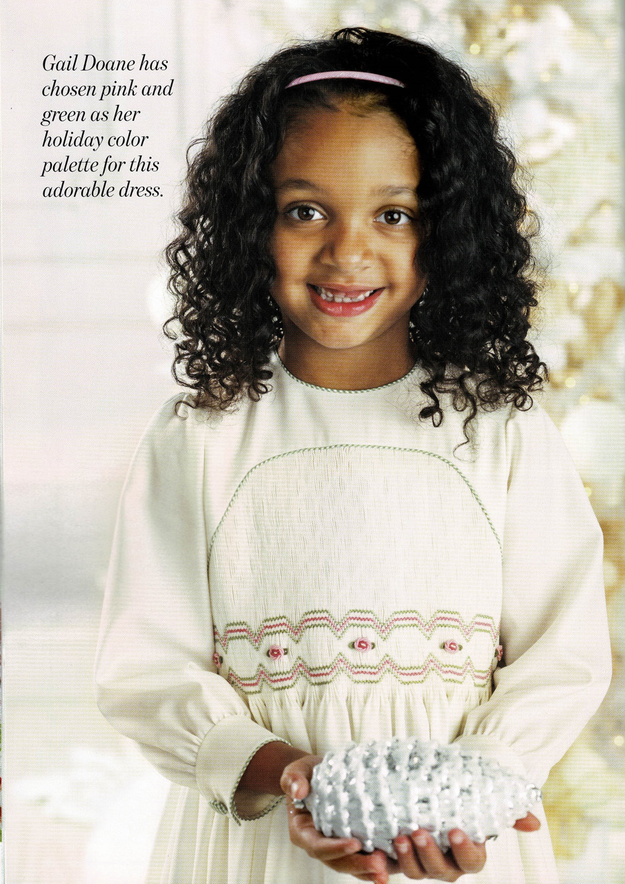 English Blossom smocked dress - downloadable from magazine