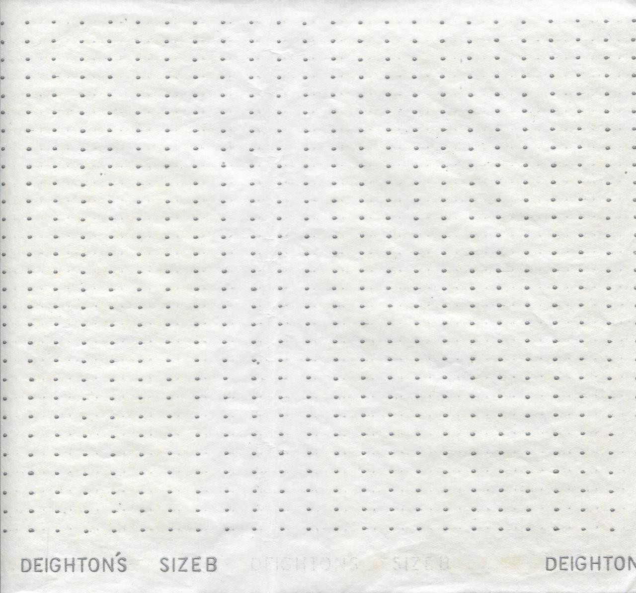 Smocking Transfer Dots - Size 'B' 9.5 mm x 6.5 mm - see video on how to use  - one sheet in each pack