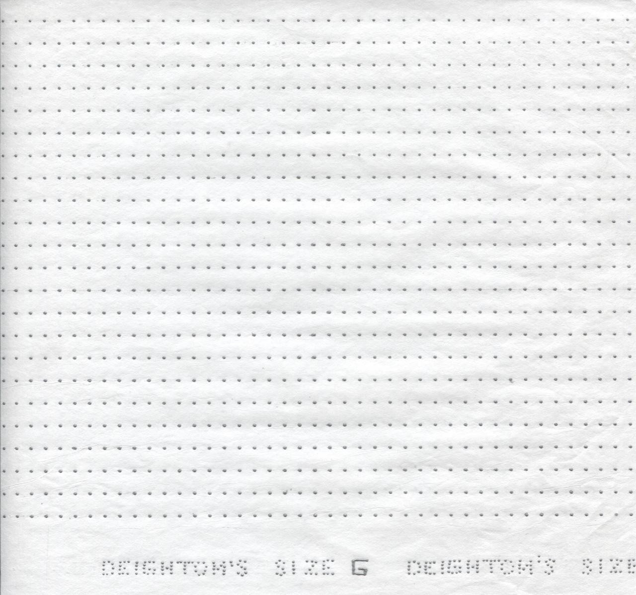 Smocking Transfer Dots - Size 'G' 5 mm x 7.5 mm - see video on how to use - one sheet in each pack