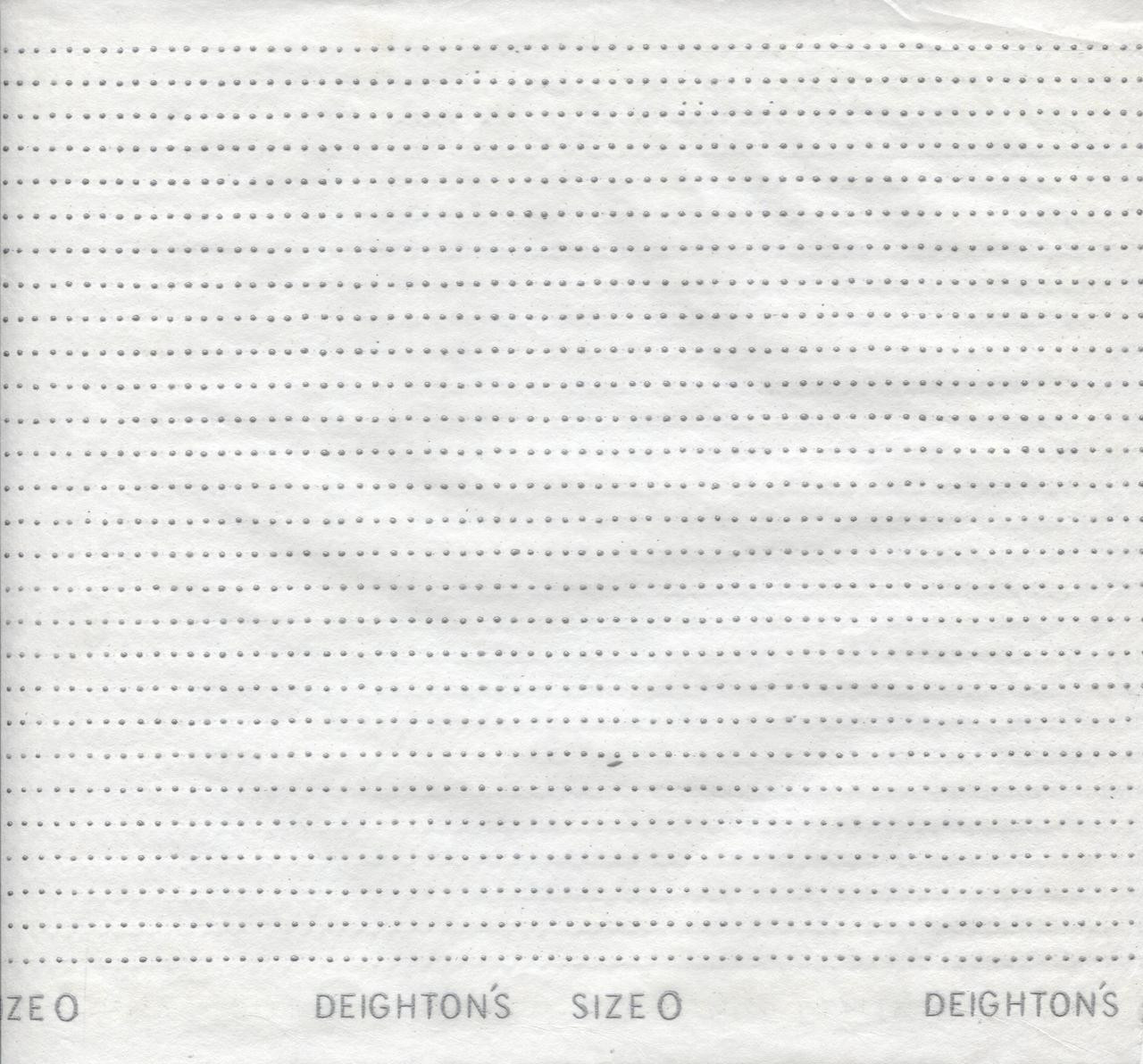 Smocking Transfer Dots - Size 'O' 3 mm x 6.5 mm - see video on how to use - one sheet in each pack - not designed to wash off