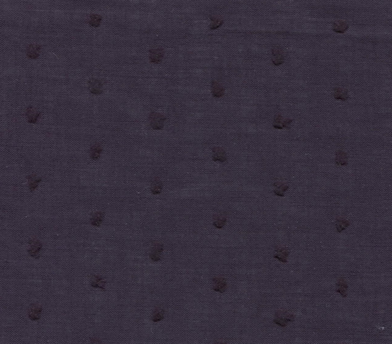 Navy Cut Spot 100% Cotton fabric by the metre