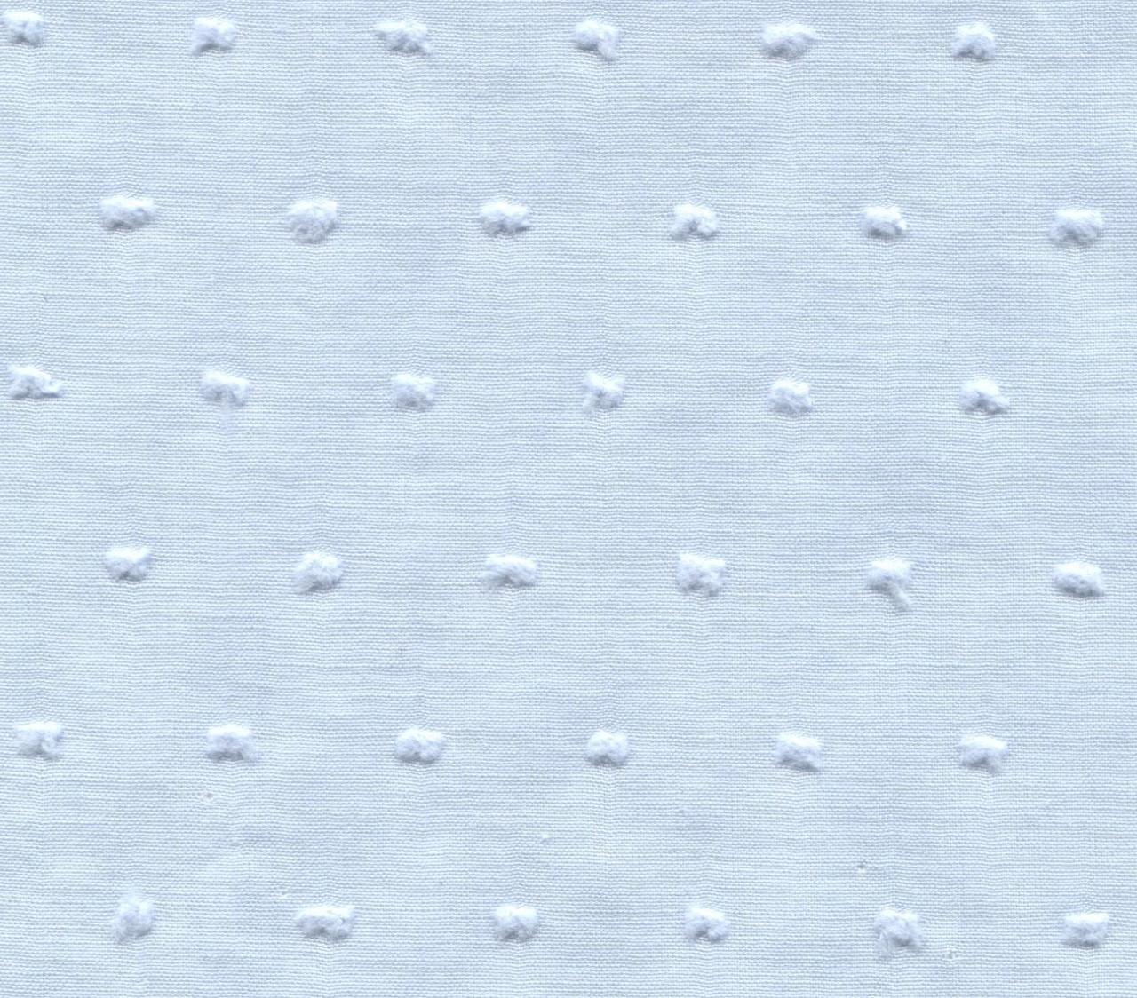 Blue Cut Spot 100% Cotton fabric by the metre