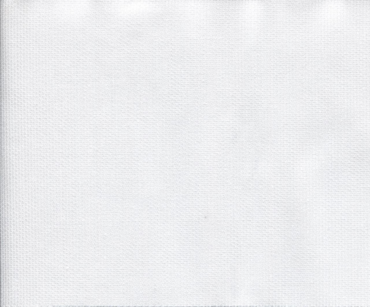 White 100% Cotton Pima Wale Pique 145 cm -