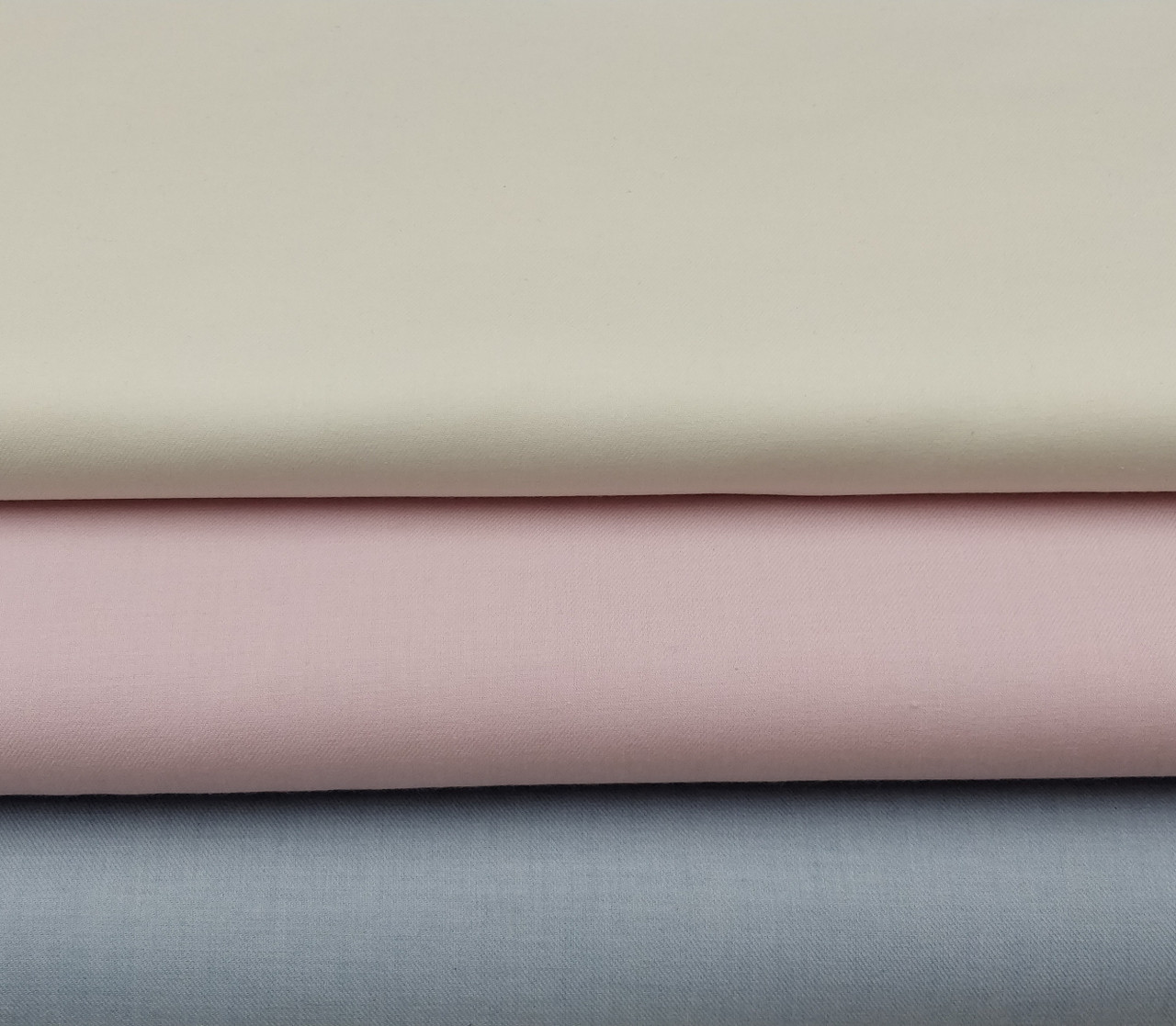 This lovely winter weight fabric pleats and smocks beautifully, Ideal for baby nightwear, winter dresses and adult blouses 147 cms wide priced per metre, Available in Cream, Pink, Pale Blue,  This is very much like the old fashioned Vyella or baby flannel,  Machine washable at 30 degrees