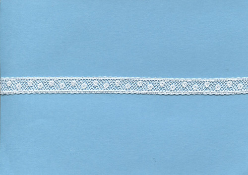 Narrow Off White insertion lace 1 cm wide