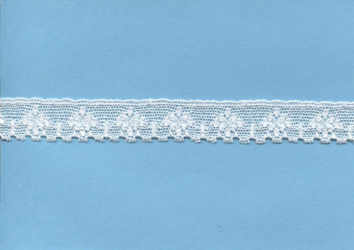 Diamond design off white edging lace 1.7 cm wide