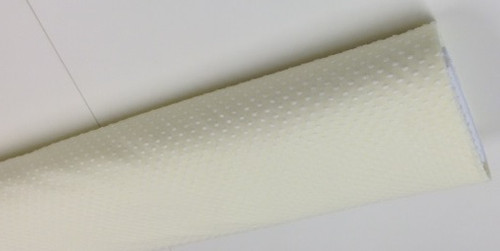 Swiss Plumetis 100% cotton in Lemon with White cut spot 140 cm wide priced per metre