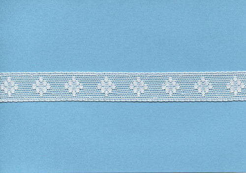 Off white diamond design insertion lace 1.7 cm wide