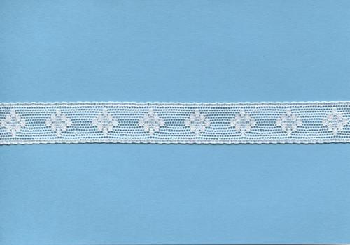 Off white diamond design insertion lace 1.7 cm wide