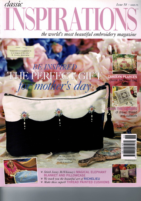 Classic Inspirations Magazine , Issue 58 2008, Excellent condition,
