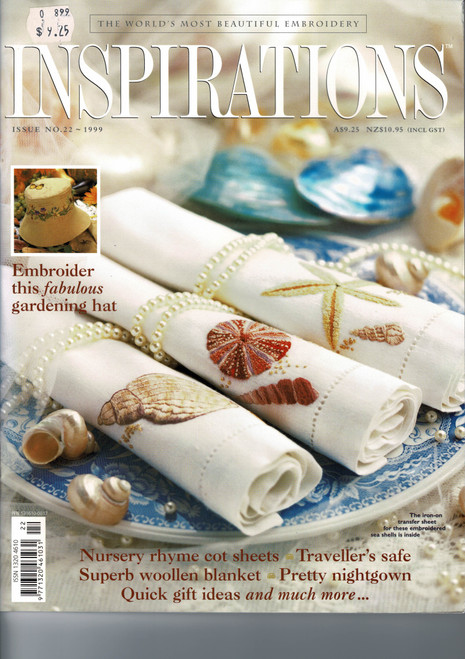 Inspirations magazine, issue 22, very good condition